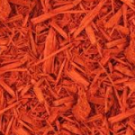 Color Enhanced Red Mulch